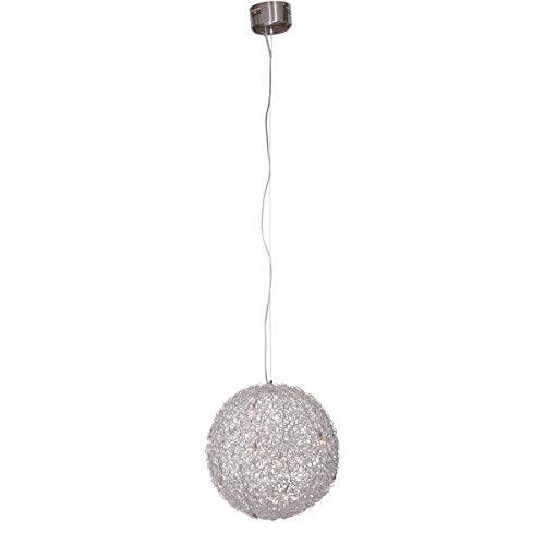 Vandeheg® Pendelleuchte DIMMABLE Aluminium silber Ø50xH150cm dimmbar 10x1,5Watt 196310