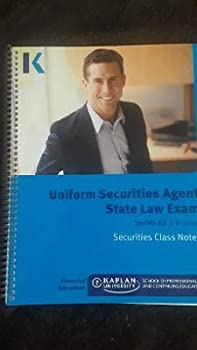 Spiral-bound Uniform Securities Agent State Law Exam Series 63 8th Edition Book