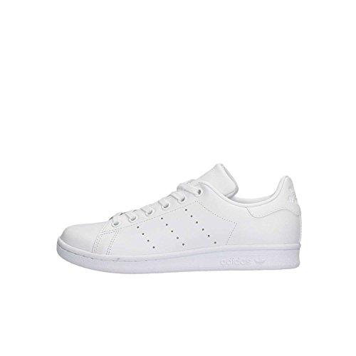 Adidas Stan Smith J, Scarpe Da Ginnastica Bambino, Bianco (White/Ftwr White/Ftwr White), 36 2/3 EU (4 UK)