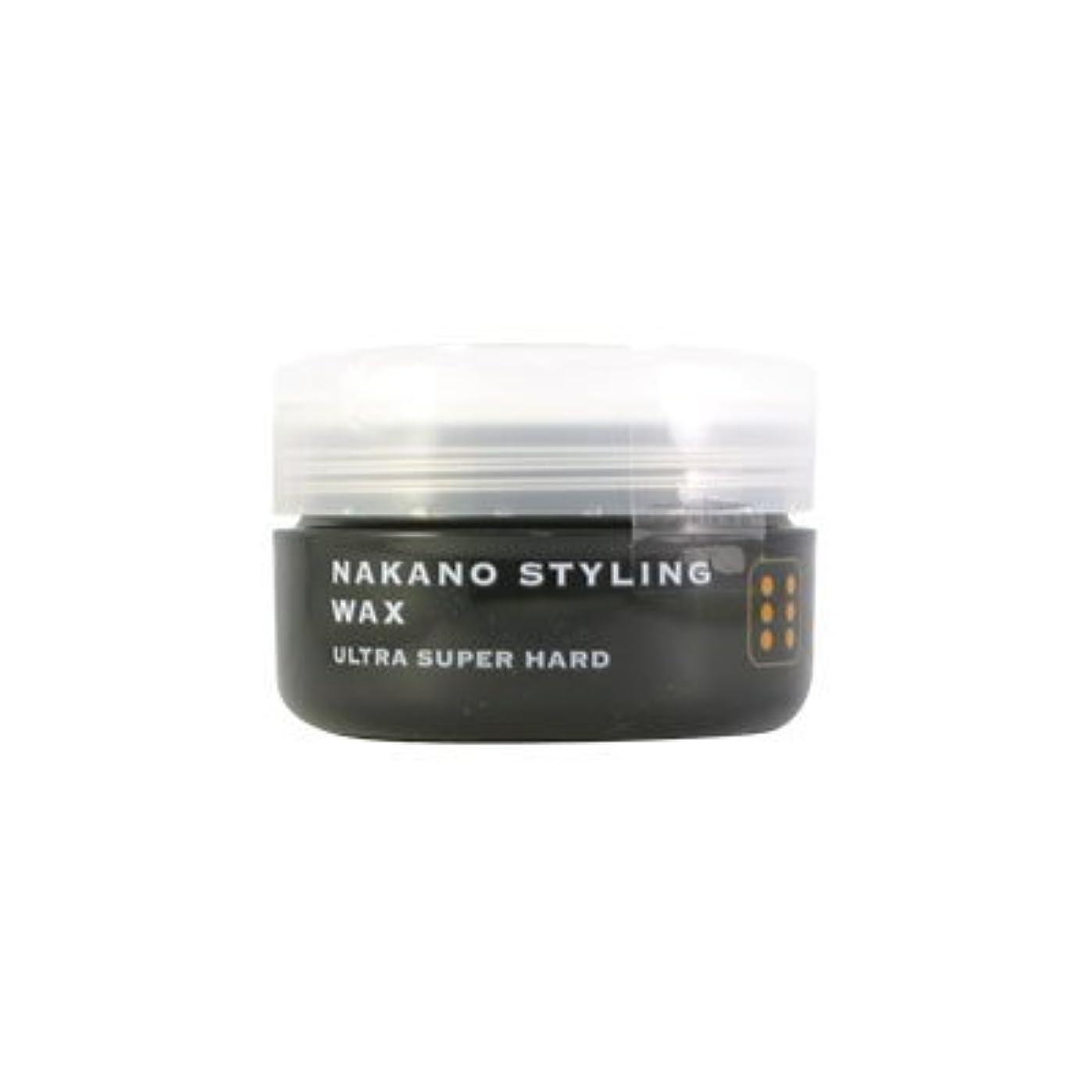 ソフトウェアパブ豊富なナカノ スタイリングワックス 6 ウルトラスーパーハード 90g 中野製薬 NAKANO