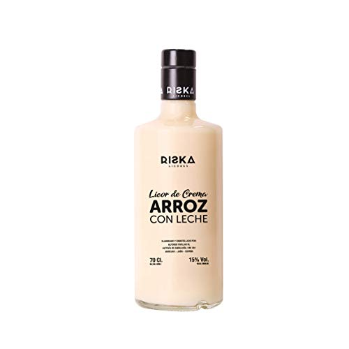 RISKA - Licor de Crema de Arroz con Leche 0,7 L