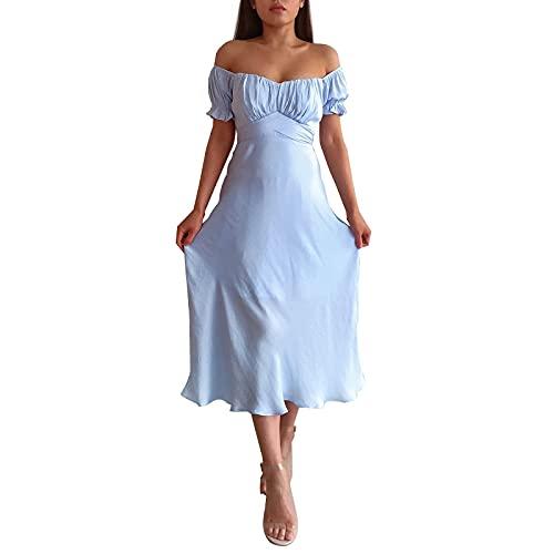 Vestido Denim,Traje Chaqueta Mujer Boda,Vestido Asimetrico,Vestidos Madrina Boda,Vestido Satinado,Vestidos Mama Comunion,Vestidos De...