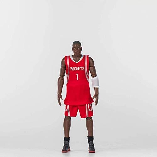 WSWJ NBA: Rockets - Tracy McGrady Acción figurs de Colección Vinilo Figura 22cm