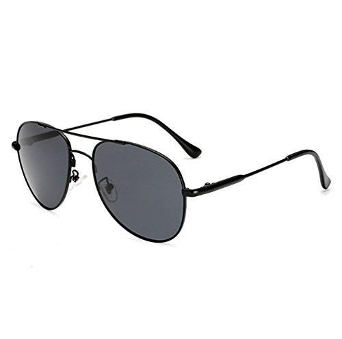 Preisvergleich Produktbild Mens polarisierte sonnenbrille, Große bilderrahmen Frosch-brille-A