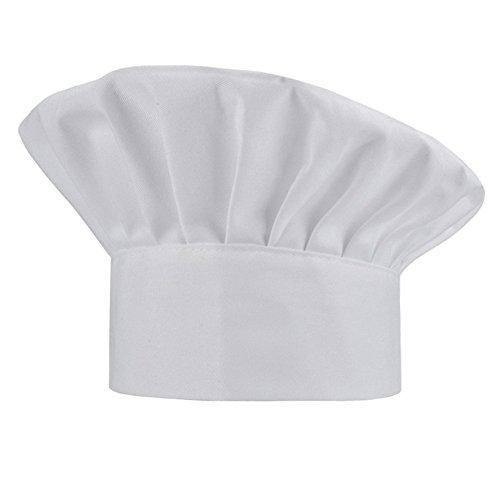 WearHome Chef Hat Adjustable Elastic Baker Kitchen Cooking Hat