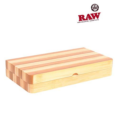 Raw Rolltablett gestreift, limitierte Auflage, magnetisch verschließbar