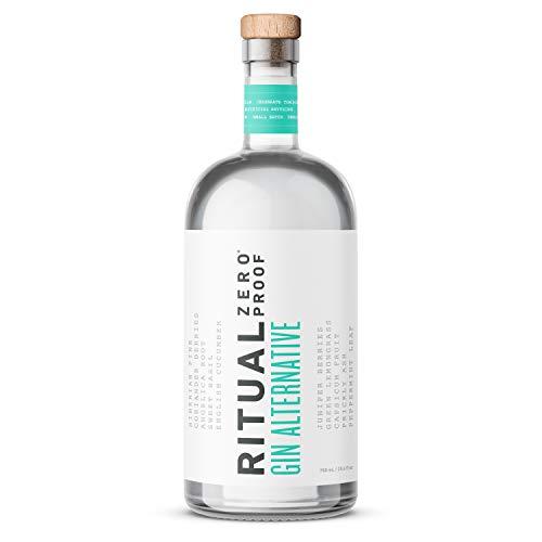 RITUAL ZERO PROOF Gin Alternative | Award-Winning Non-Alcoholic Spirit | 25.4 Fl Oz (750ml) | Zero Calories | Keto, Paleo & Low Carb Diet Friendly | Make Delicious Alcohol Free Cocktails