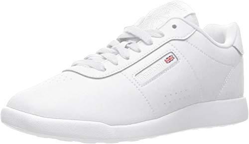 Reebok Women's Princess Lite Classic Shoe, White, 8 W US
