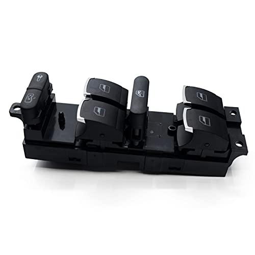Interruptor de Ventana de Coche Botón de Interruptor de Control de Ventana Principal, para VW 99 04 GTI Golf 4, para Jetta MK4 Bora Beetle Passat B5 B5.5, para Seat Leon Toledo