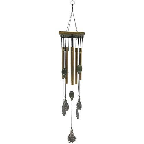 YL-adorn art Wind Chimes, Un Jardin Extérieur Et Intérieur Carillon À Vent avec Natural Apaisants, 8 Tube en Alliage Voilier Wind Chimes, pour La Décoration De La Maison Cadeaux De Noël