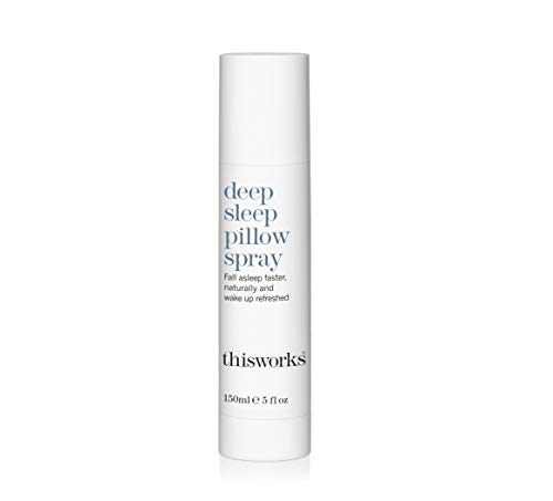 thisworks deep Sleep Pillow Spray: Natural Sleep Aid, Stress & Anxiety Relief with Essential Oils of Lavender, Vetivert and Camomile, 150ml | 5 fl oz