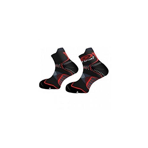 BV Sport – Trail, Couleur Black/Red Taille EU 45 – 47