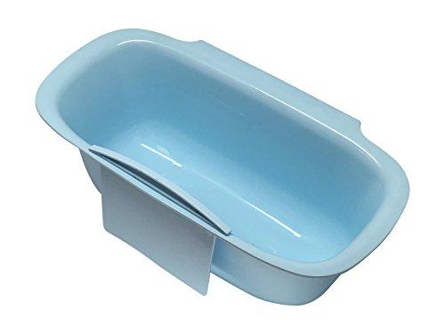 scarlet kitchen | Auffangschale »Vasca« (inkl. Schaber) für Küchenabfälle; zum Einhängen an Schublade oder Tür (Blau)