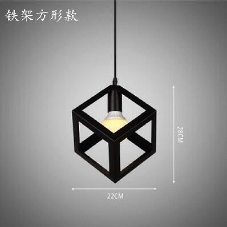 Luckyfree Kreative Modern Fashion Anhnger Leuchten Deckenleuchte Kronleuchter Schlafzimmer Wohnzimmer Küche, Bügeleisen Regal Platz