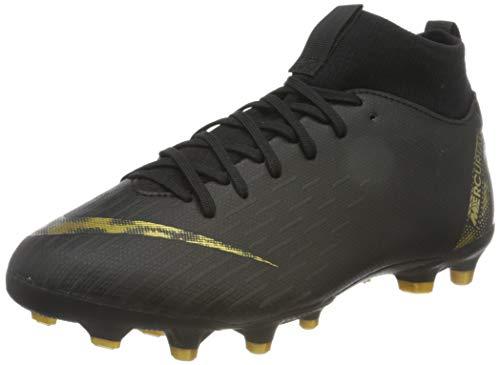 Nike Superfly 6 Academy MG Fußballschuhe, Schwarz (Black/MTLC Vivid Gold 077), 36.5 EU