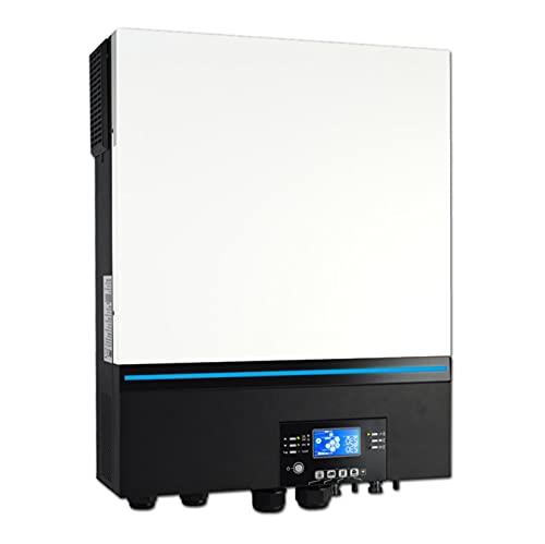 GAOXQ Inversor Solar 8000W 230V 48V 50HZ / 60HZ 500VDC PV INPUTRAS 80A MPPT Cargador Solar Incorporado WiFi Soporte de Litio BMS