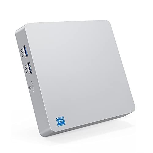 "Mini PC 8 Go de RAM + 128 Go de ROM Intel Atom Z8350 Windows 10 Pro Mini ordinateur de bureau, , soutien 2,5"" SATA HDD/SSD,4K HD,2.4G/5G WiFi,Bluetooth 4.2,1000 Mbps Ethernet, HDMI + VGA Output"