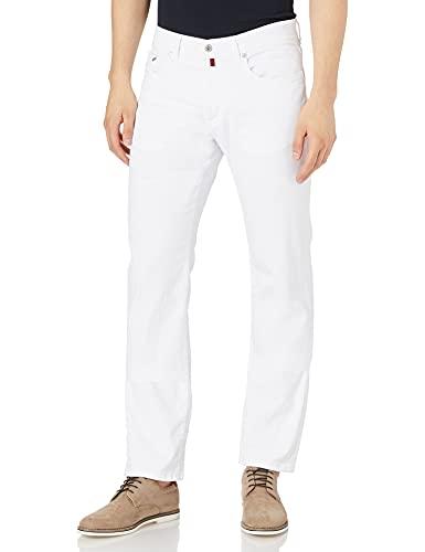 Pierre Cardin Herren Lyon Jeans, Weiß, 3434