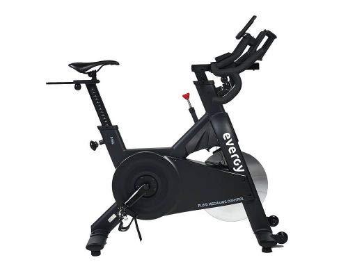 Bicicleta Ciclo Indoor EVERGY H1 FMC-COMP - Spinning - Volante de Inercia 16 kg - Sillín y Manillar ajustables vertical y horizontalmente - Pantalla LCD - Pedales mixtos
