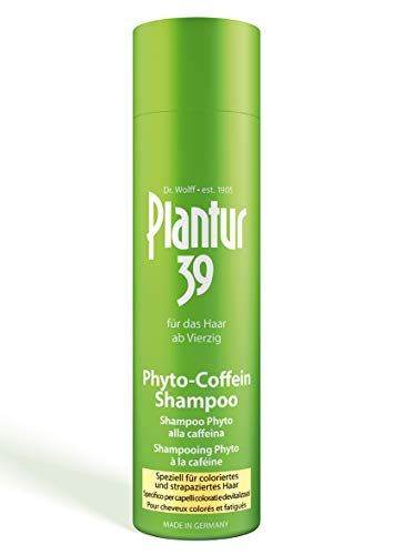 Plantur 39 Phyto-Coffein Shampoo per capelli fini e fragili, 1 x 250 ml – Per capelli sopra i quaranta