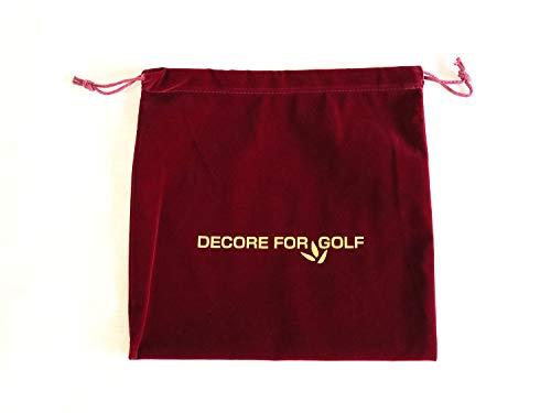 シューズケース 巾着袋 シューズケース 小型 角型 30cm*30cm 【デコレフォーゴルフ】