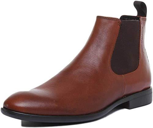 Vagabond Herren Harvey Chelsea Boots, Braun (Cognac 27), 45 EU