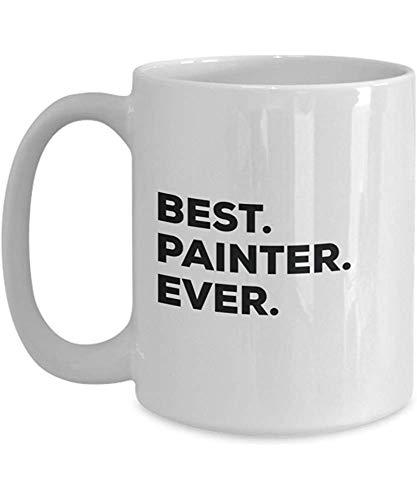 El mejor pintor de la historia Taza divertida de café Gracias agradecimiento por las vacaciones de cumpleaños Ideas únicas de regalos