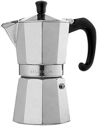 Bellemain - Cafetera de cocina, para café expreso y moca