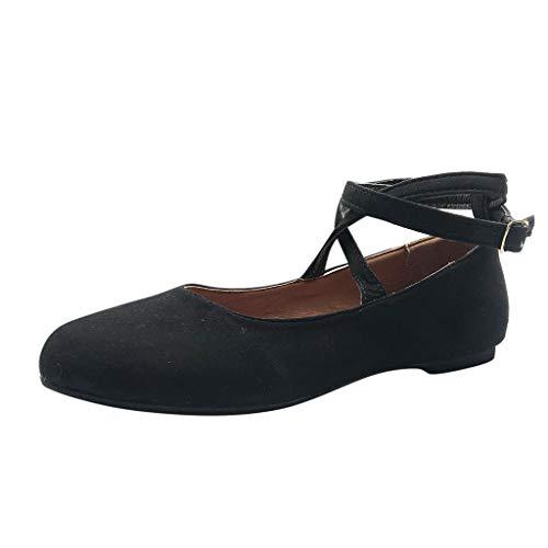 Vovotrade dames Romeinse ronde hoofdbandgesp afzonderlijke schoenen sandalen woningen nonchalante mode temperament
