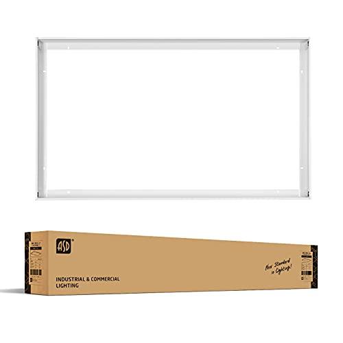 ASD 2x4 Foot White Surface Mounting Frame Kit for LED Flat Panel Light