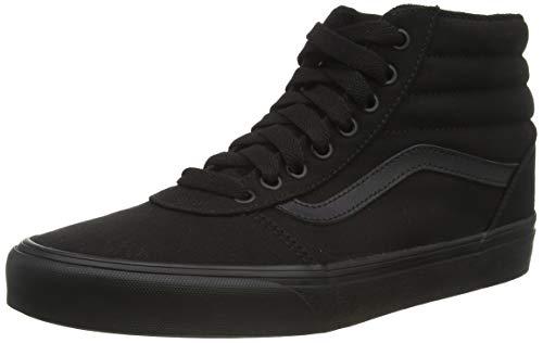 Vans Herren Ward Hi Canvas Hohe Sneaker, Schwarz (Black 186), 44 EU