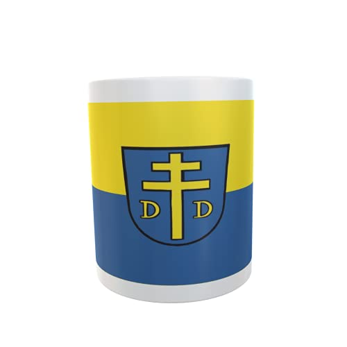 U24 Tasse Kaffeebecher Mug Cup Flagge Denkendorf