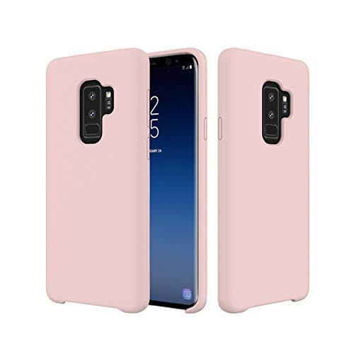 18eay Custodia Compatible per Samsung Galaxy S9 Plus Cover Silicone Slim Antiurto Morbida Microfibra Ultra Sottile Liquido Case Protezione Cover per Samsung Galaxy S9 Plus