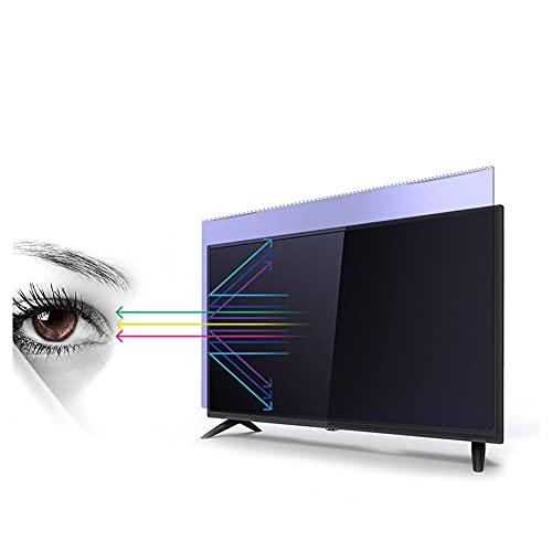WSHA Película Protectora de Pantalla de TV de 32 a 75 Pulgadas, antirreflejos, antirreflejo, antiarañazos, Filtro de Pantalla de luz Azul, Reduce la Fatiga Ocular,58 Inches(1269x721mm)