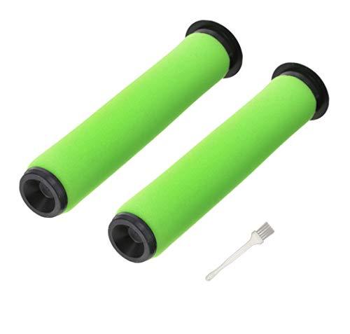 2 Stück Waschbar Gtech Filters Mk2 K9 für Gtech AirRam Mk2 K9 Schnurlose Staubsauger, Zubehör