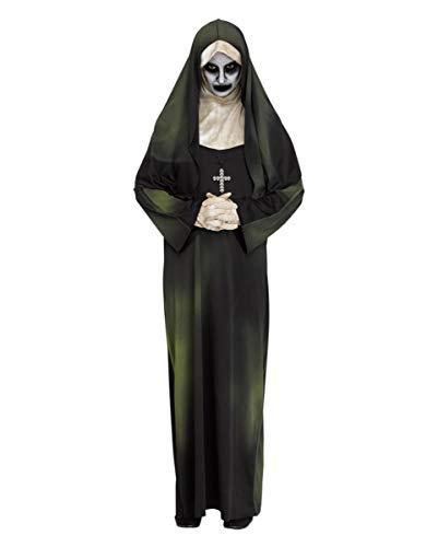 Horror-Shop Verdammte Geister Nonne Kostüm als Halloween Verkleidung One Size