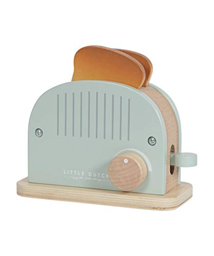 Holz Toaster Set - Little Dutch