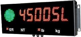Remote Display: Western Weighing Aurora 45, 4.5 Inch LED Remote Display, Weatherproof Enclosure NEW !!