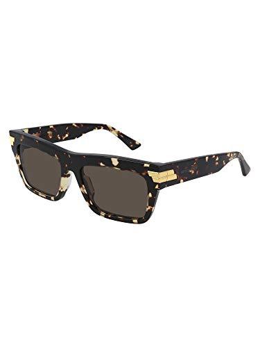 Bottega Veneta Luxury Fashion Donna BV1058S002 Marrone Acetato Occhiali Da Sole | Stagione Permanente