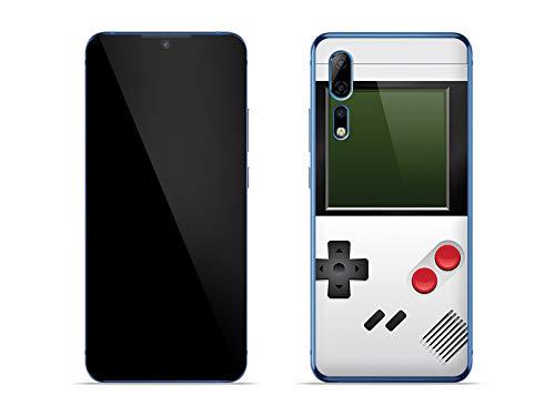 etuo Hülle für ZTE Axon 10 Pro 5G - Hülle Fantastic Hülle - Weißes Game Boy Handyhülle Schutzhülle Etui Hülle Cover Tasche für Handy