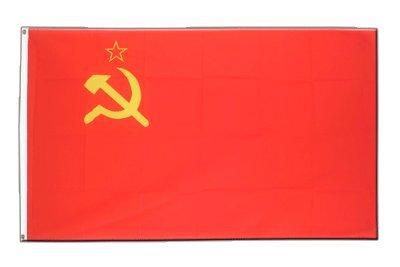UDSSR Sowjetunion Flagge, sowjetische Fahne 90 x 150 cm, MaxFlags®