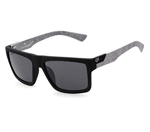 DIOXQEN Diseño clásico Gafas de Sol clásicas Hombres Mujeres Conduciendo Marco Square Gafas de Sol Gafas Masculinas Deportes UV400 Gafas Gafas para Uso en Exteriores (Lenses Color : C3)
