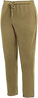 shelikes Mens Trousers Fleece Open Hem Bottoms Track Pants Casual Jogging Joggers with Zip Pockets