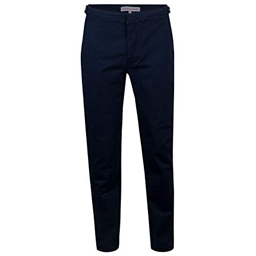 Orlebar Brown Campbell Slim Fit Stretch Chinos, Navy, Size 32