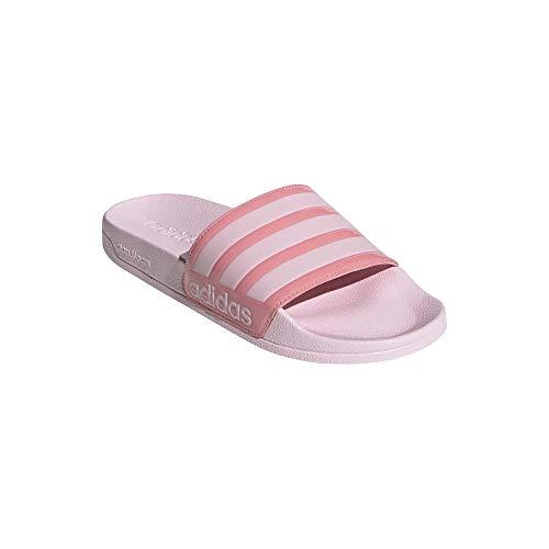 adidas Shower Women Adilette Badelatschen Slides (pink, Numeric_40_Point_5)