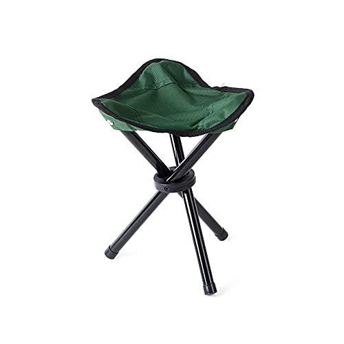 Chnrong Silla de camping plegable, ligera y portátil, plegable, sillas de camping al aire libre para la playa de pesca, perfecto para viajes de caravana, barbacoa, jardín, viajes