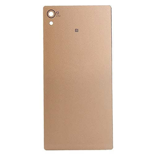 Back Glass Cover Battery Door Replacement Replacement Battery Door Back Cover Rear Glass for Sony Xperia Z4 (Color : Gold)