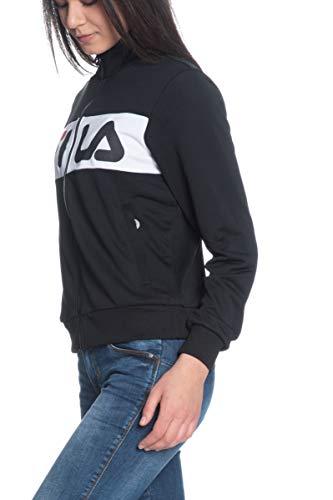 Fila Bronte Track Jacket Women's Sweatshirt Black