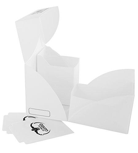 Ultimate Guard Twin Deck Case 160+ Caja de Cartas Tamaño Estándar Blanco