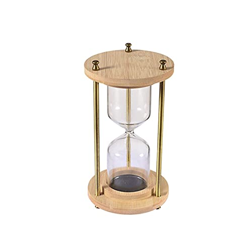 WSJQWHW Hourglass, Hourglass Timer You Can Make Yourself, Glass Hourglass, Can Be Used for Desks, Study Decorations (Size : Large)